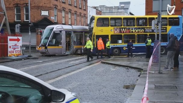 luas accident