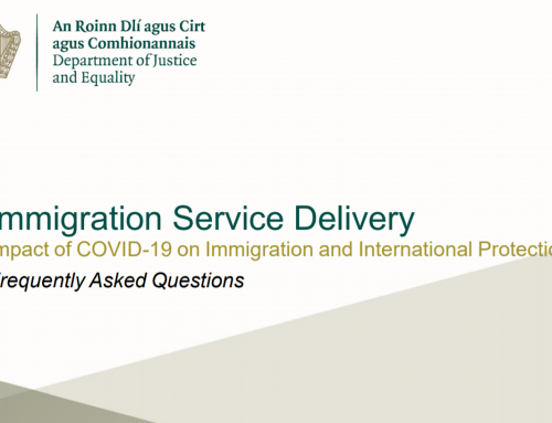 Immigration Service Delivery FAQ Document 27 April 2020