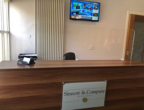 Sinnott Solicitors Re-Open for Office Consultations